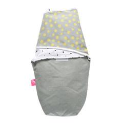 Novorozenecká zavinovačka Motherhood - žluté kaňky