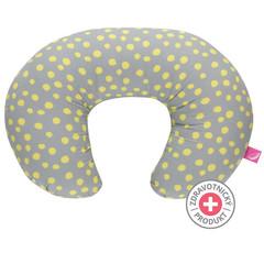 Kojicí polštář Motherhood - žluté kaňky