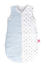 Letní spací pytel Motherhood - modré proužky