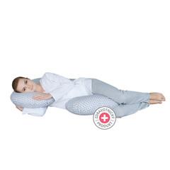 Těhotenský polštář Motherhood - Classics šedý