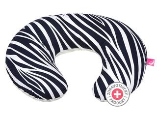 Kojicí polštář Motherhood - tmavě modrá zebra