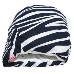 Kojicí polštářek rukávník Motherhood - modrá zebra